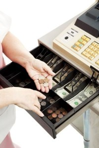 How you handle cash drawer shortages with employees is based on law - state or federal!