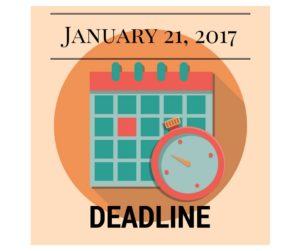 January 21, 2017 is the deadline for new Form I-9.