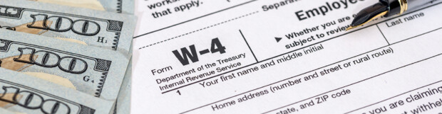 NEW Form W-4 for 2020